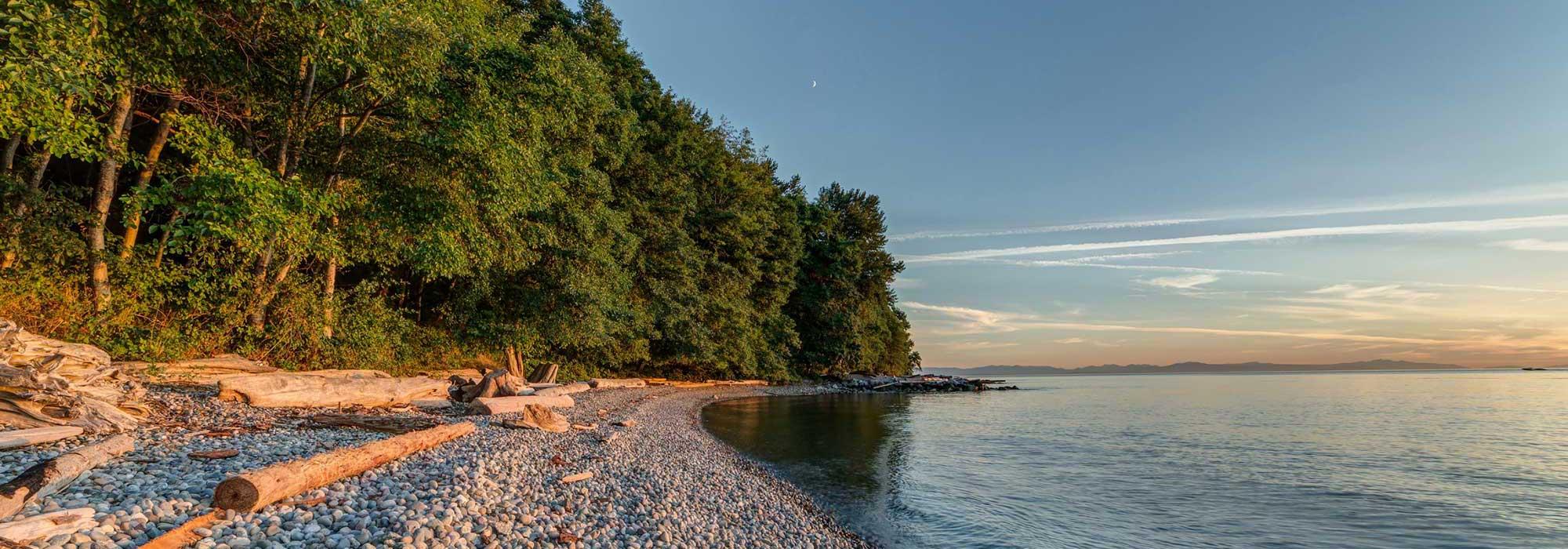 UBC shoreline