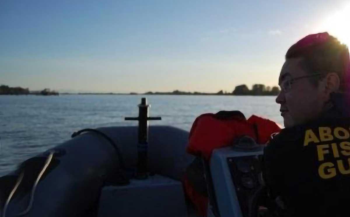 Garde-pêche autochtone Photo  :  Nation Musqueam